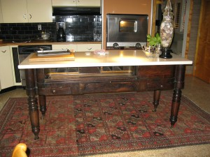 Kitchen Island/Old Piano