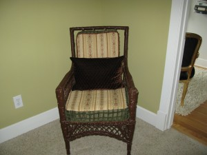 Early 1900's wicker made new.