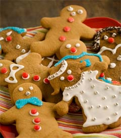 Multi Racial Gingerbread boys and girls...we don't discriminate