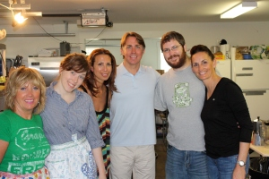 The Culinary Crew of Paula's Best Dishes and dreamy guest Chef John Besh